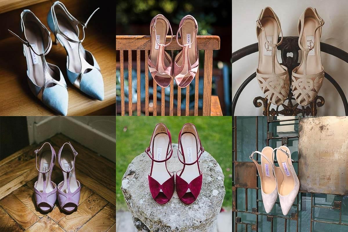 zapatos de aguja