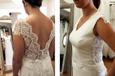 ¿Cómo es el proceso de un vestido de novia en Martha Peters?