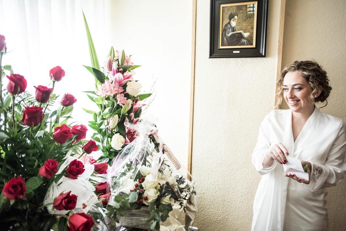 vestido de novia real