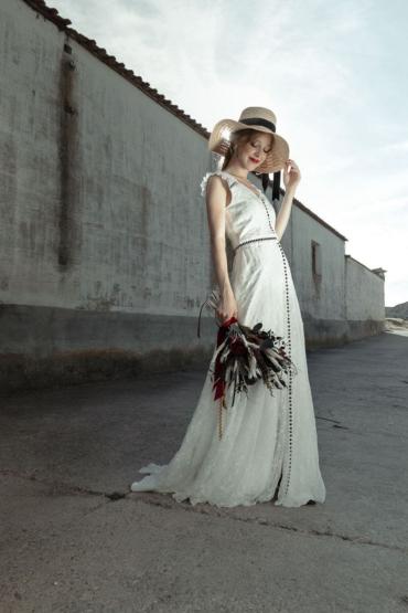 Cècile, un vestido para las novias con más estilo