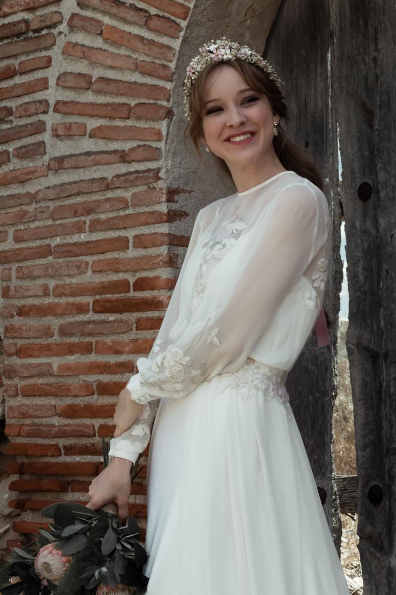 vestido de novia diferente