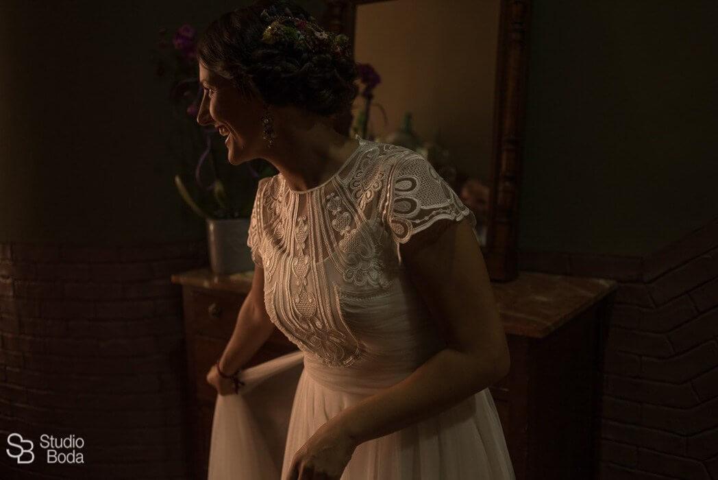 vestido novia real