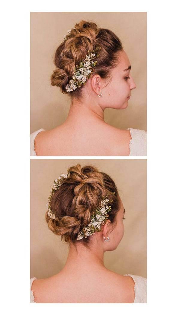 peinados de novia 2020