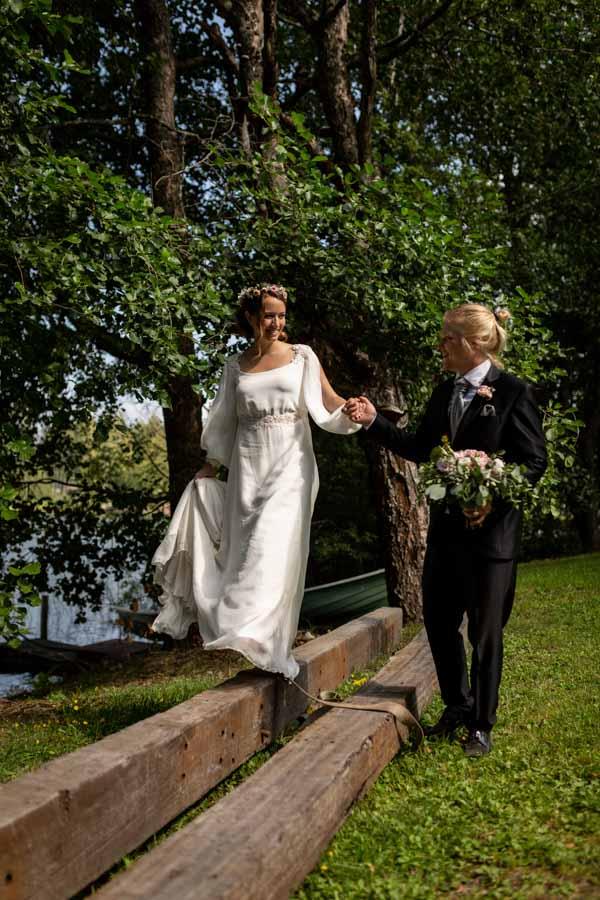 novia real Martha Peters