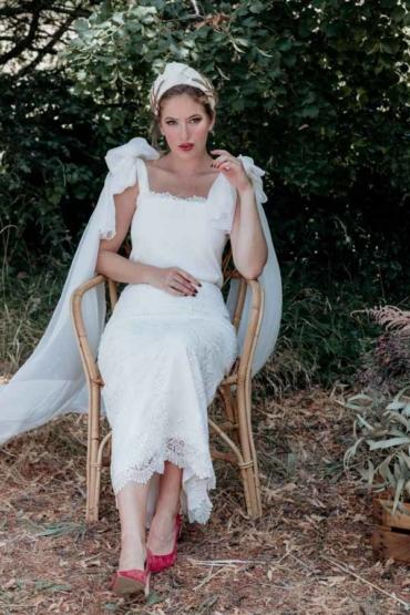 Hilde, un diseño para novias con mucha personalidad