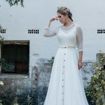 Liesi, un vestido para un 'doble look'