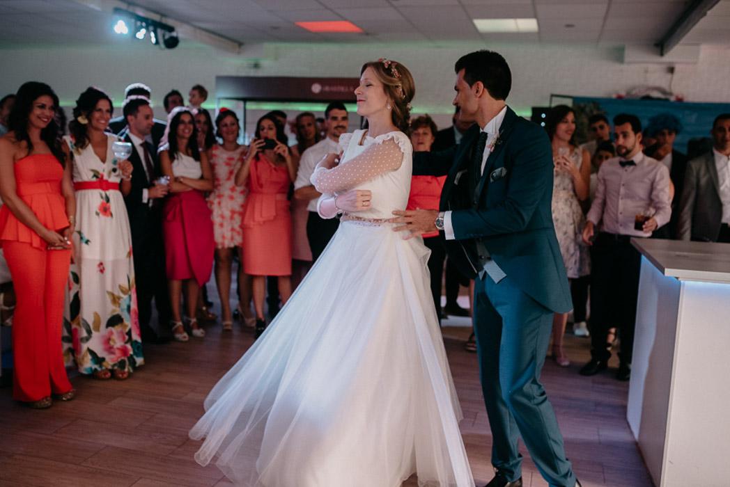 vestido de novia real diferente
