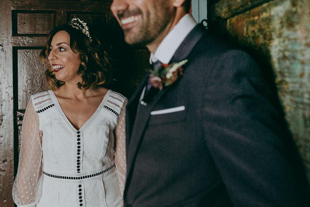 vestidos de novia con toque de color