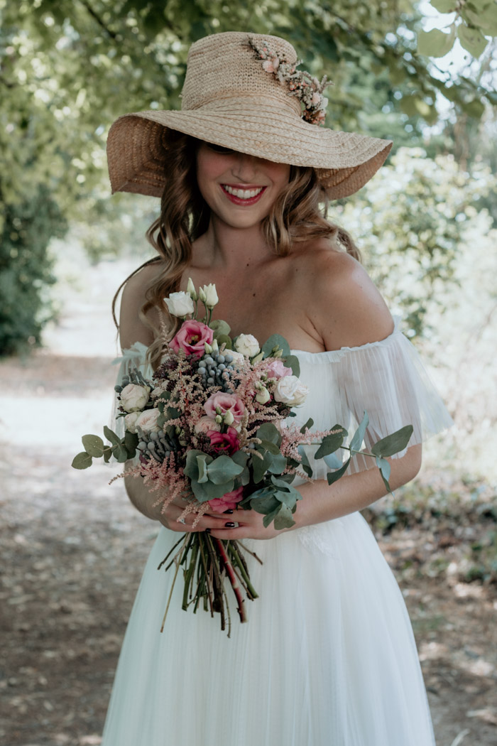 vestido de novia bohemio