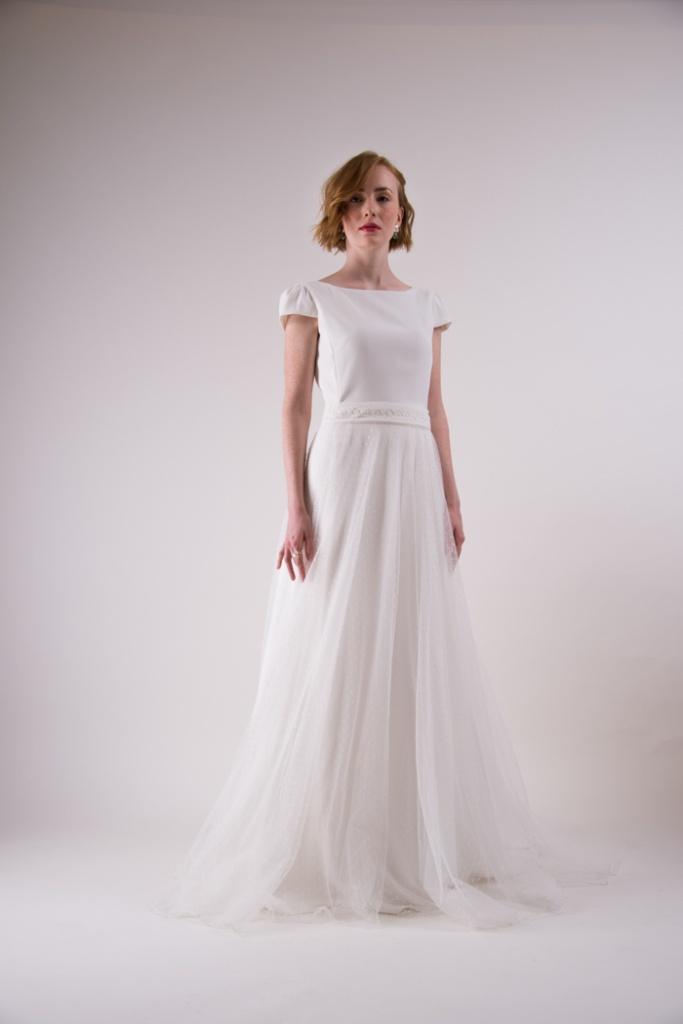 vestidos para boda civil sencillos
