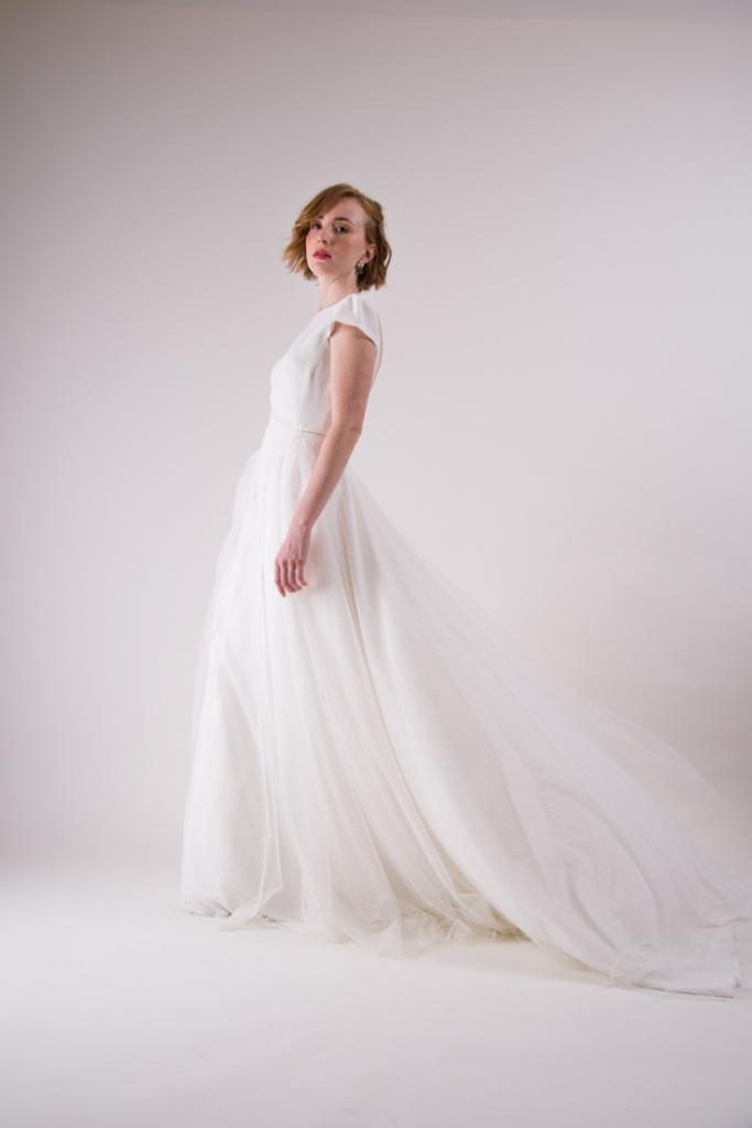trajes de novia cortos