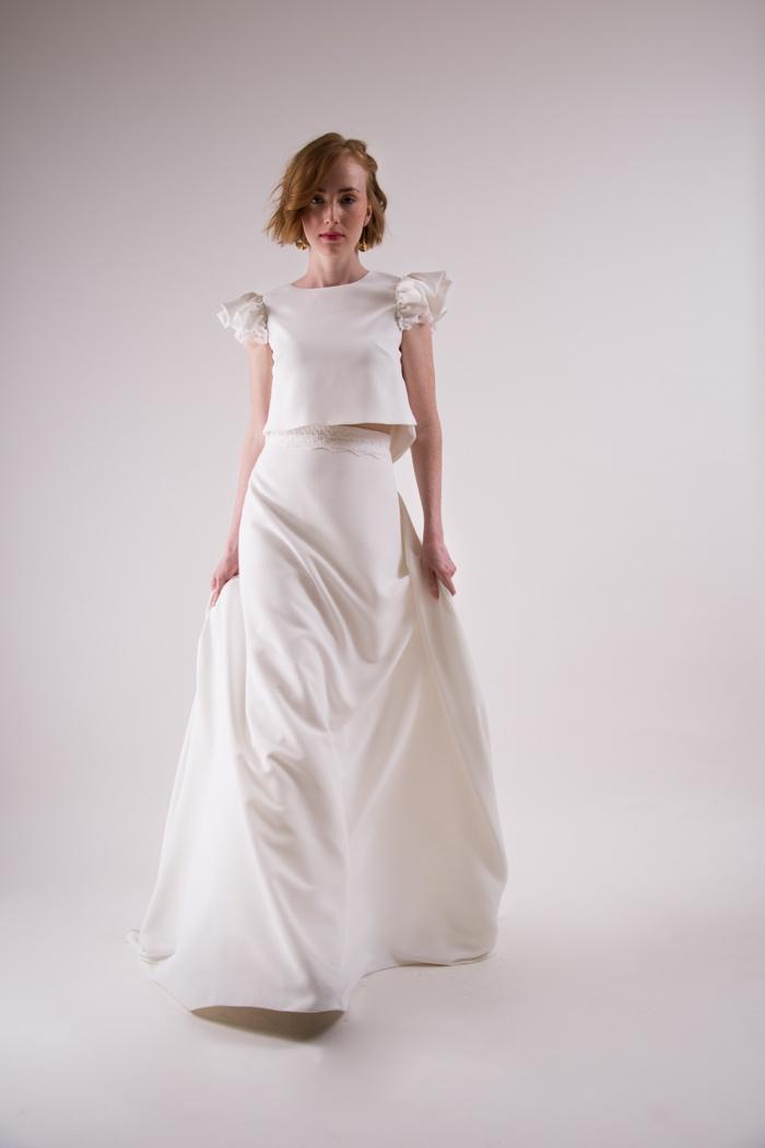 vestidos de novia sencillos para boda civil