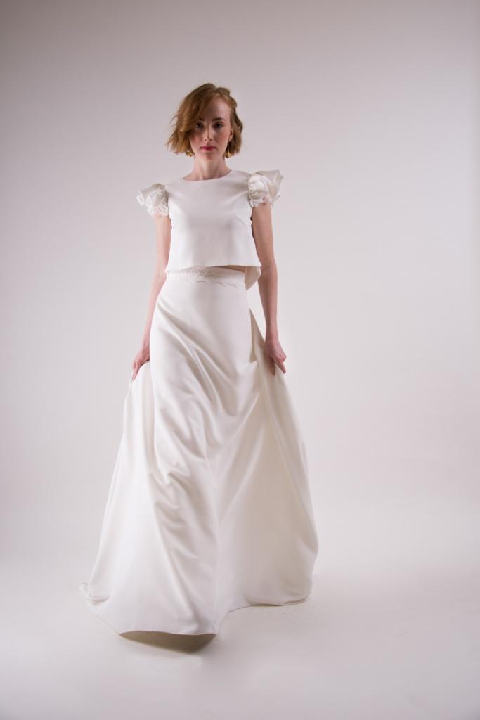 vestidos para novia civil