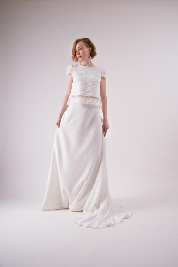 vestidos de novia sencillos y modernos