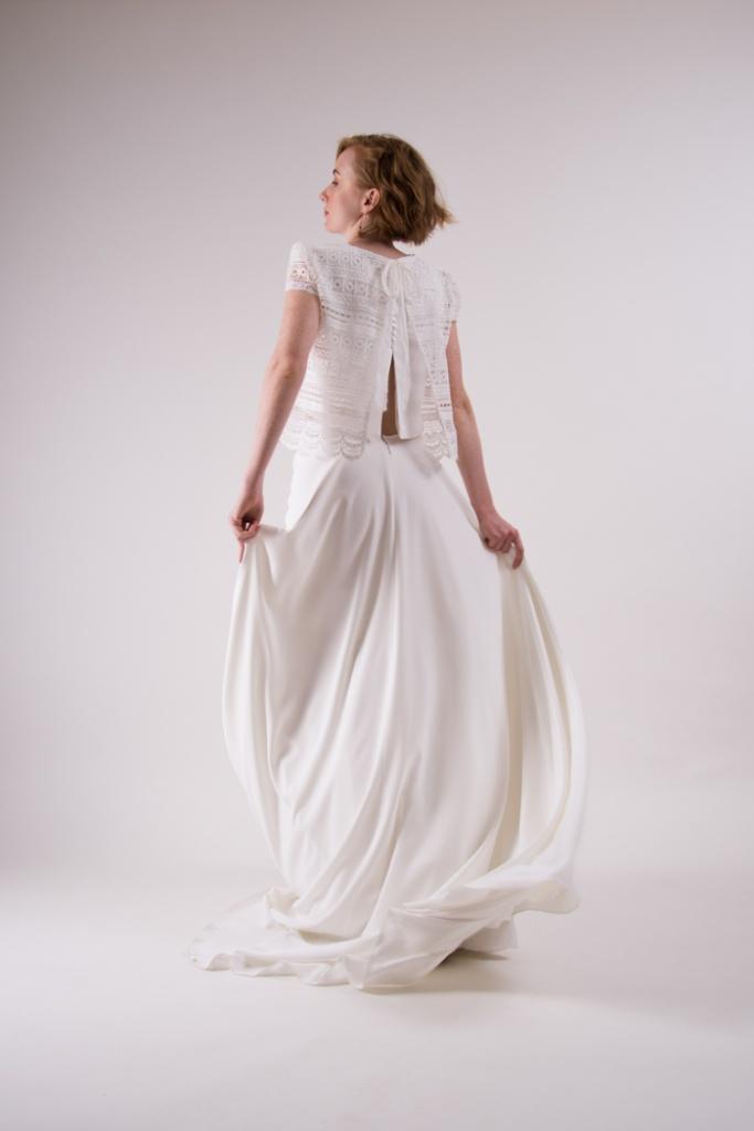 vestidos de novia para boda civil de dia