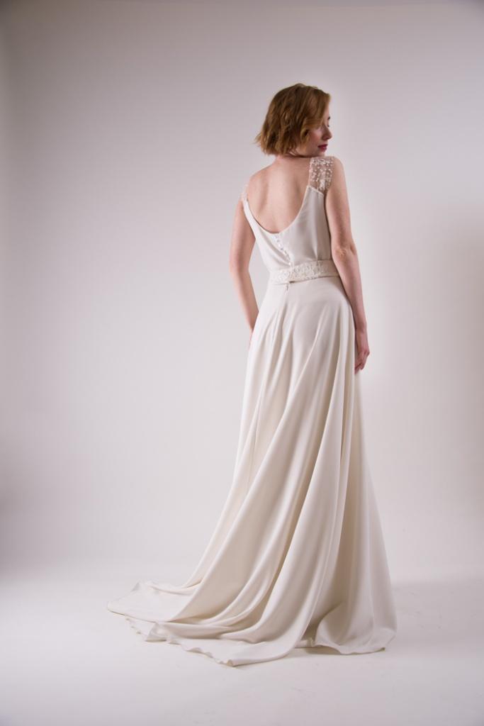 vestidos elegantes para boda civil