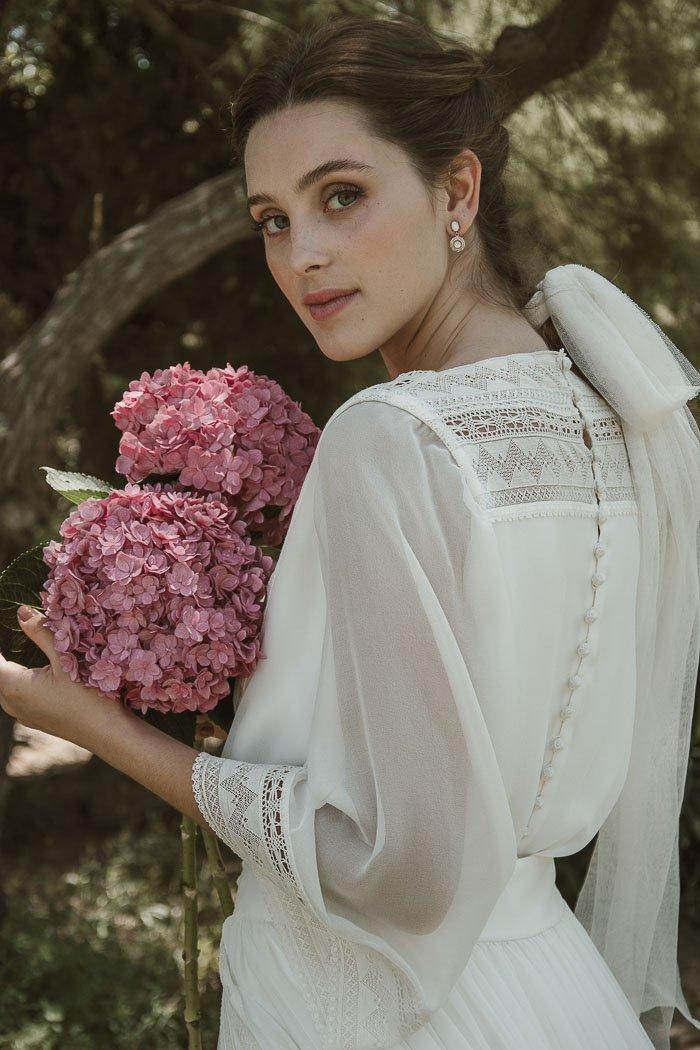 trajes novia originales
