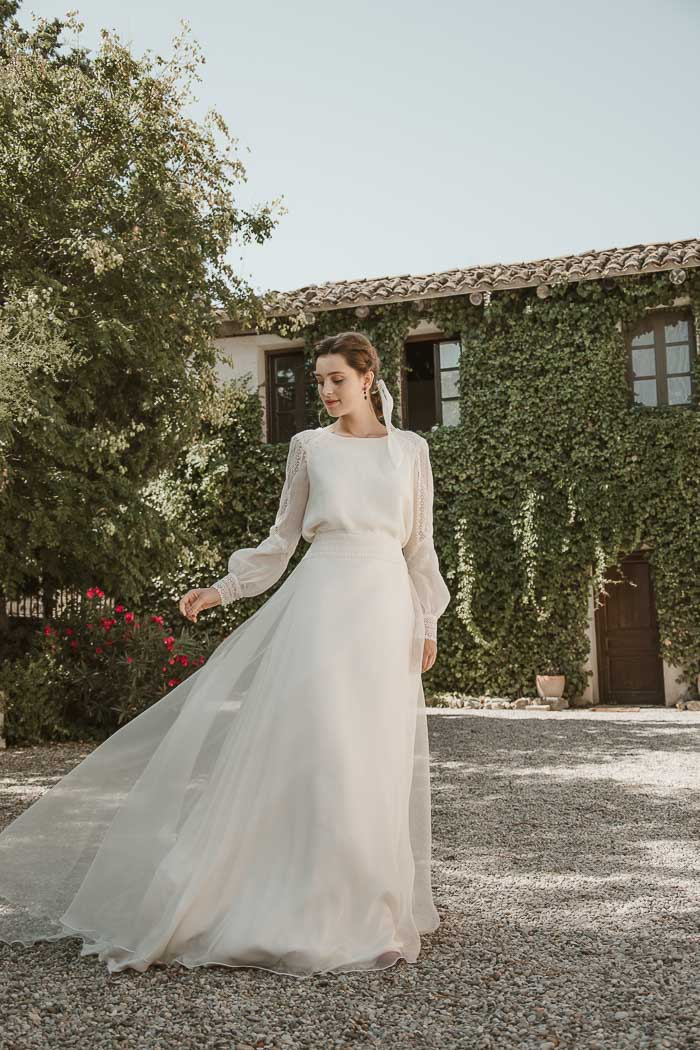 trajes de boda novia