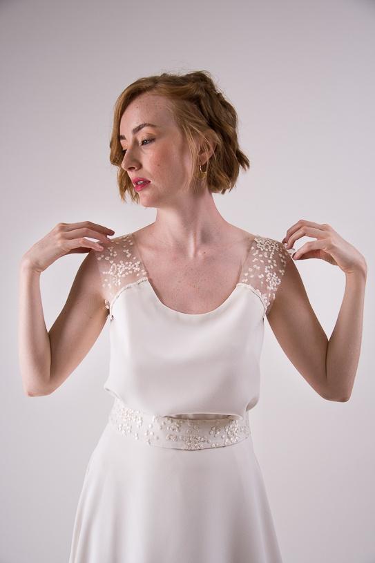 vestido de novia desmontable diferente