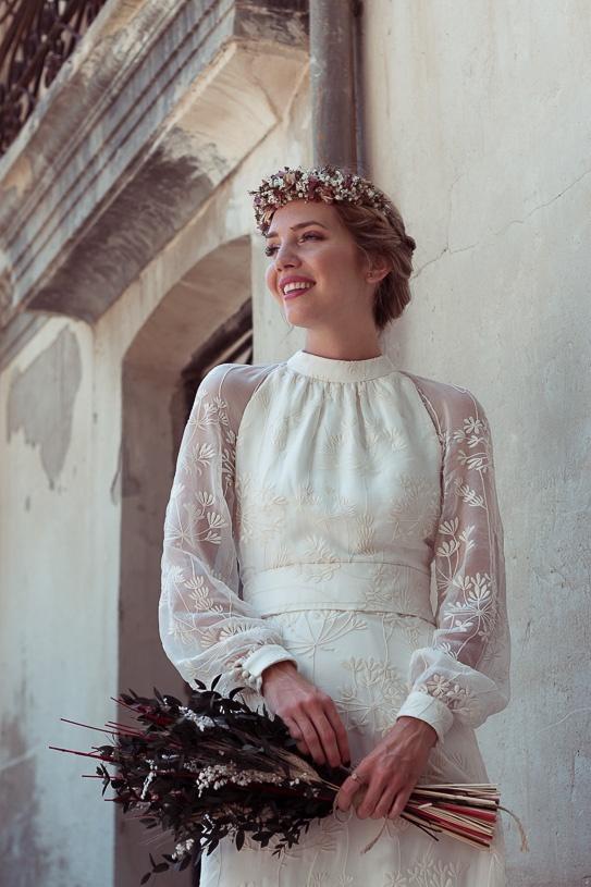 tejidos vestidos cde novia