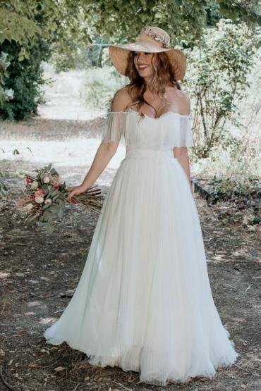Tejidos especiales para vestidos de novia: Tul